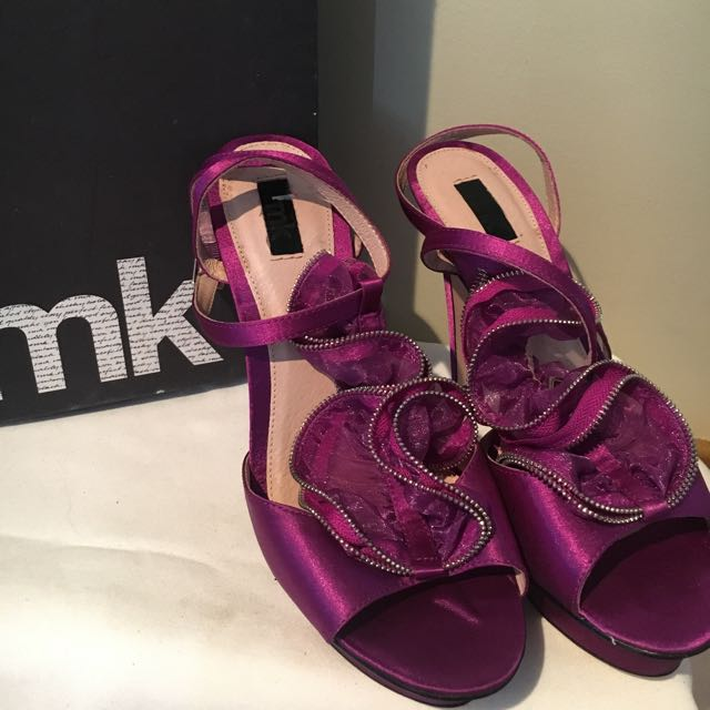 Brand New Rmk Purple Heels