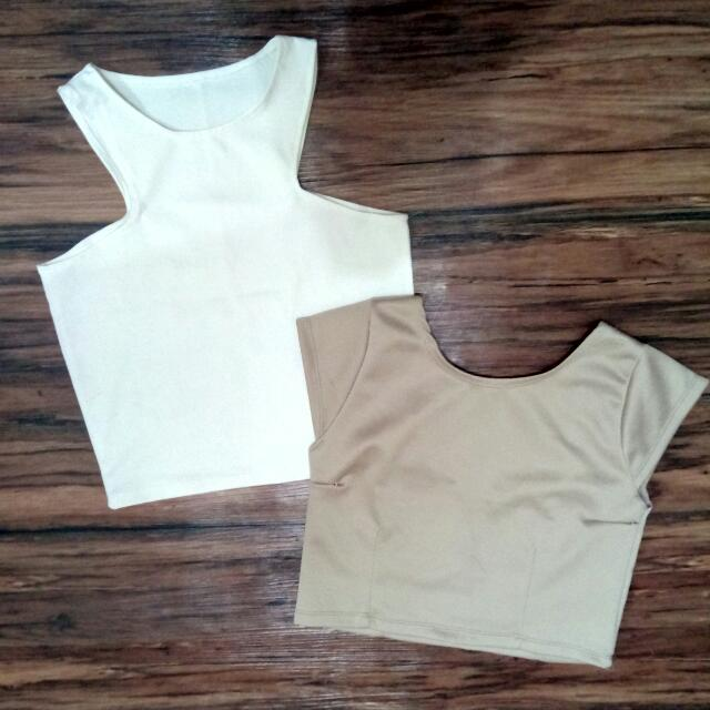 Bundle Of 2 Cropped Tops