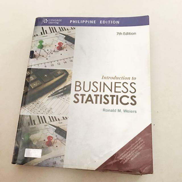 Business statistics 7th edition