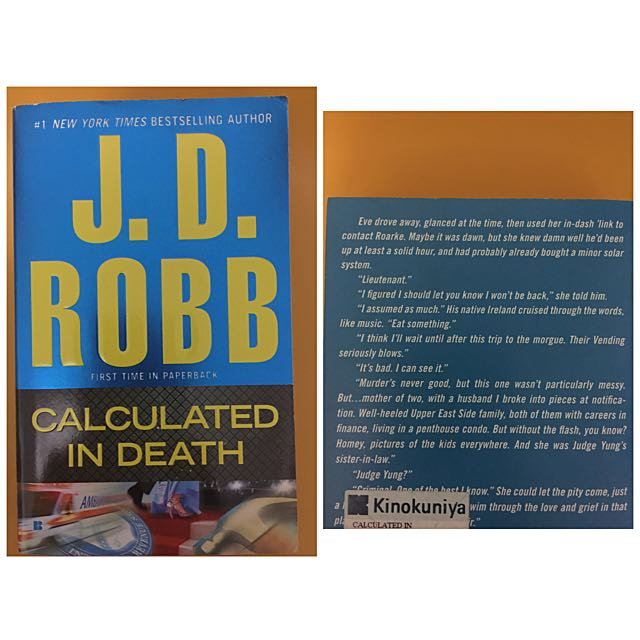 Calculated In Death by JD Robb