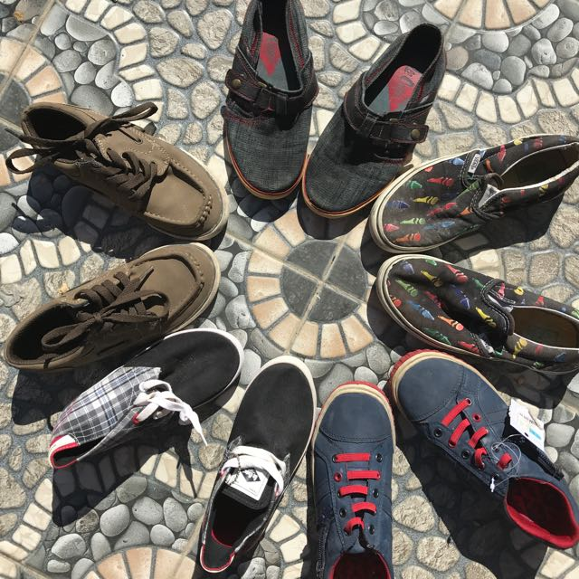 Children's Shoes Lee Cooper, Vans, American eagle