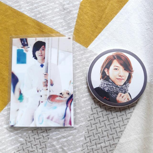 CNBLUE JUNG SHIN Pin W/ Photocard
