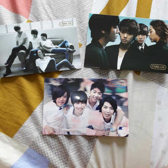 CNBLUE Group Photo Cards