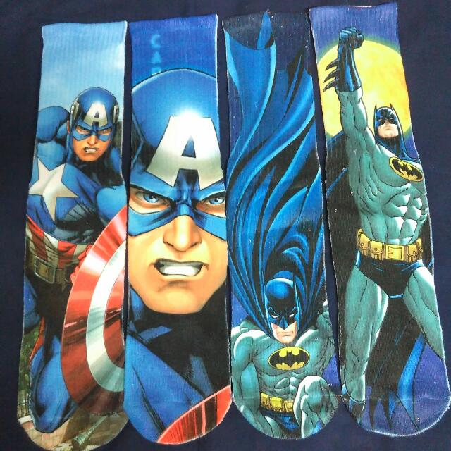 DC Darvel Captain America Batman 美國隊長 蝙蝠俠 英雄