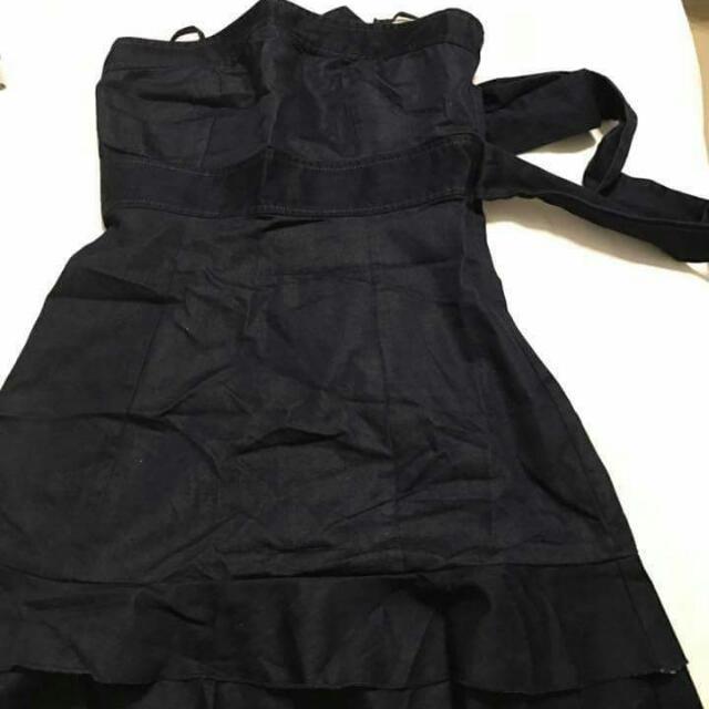 Denim Tube Dress