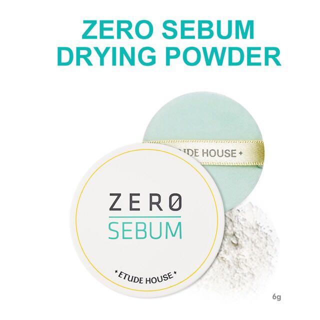 ETUDE Zero Sebum Mineral Powder