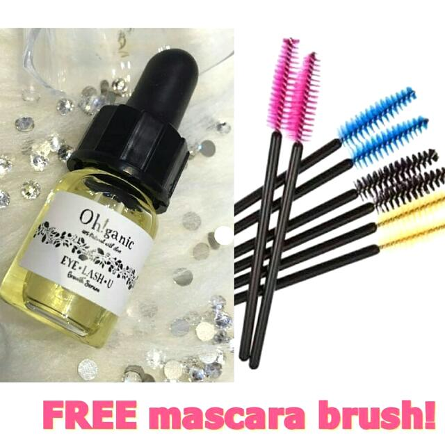 Eyelashes Eye Serum (FREE BRUSH)