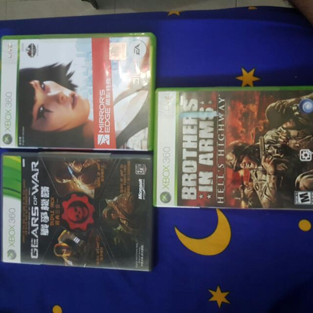Gears Of War Triple Pack . Brother In Arms Hell's Highway . Mirror's Edge