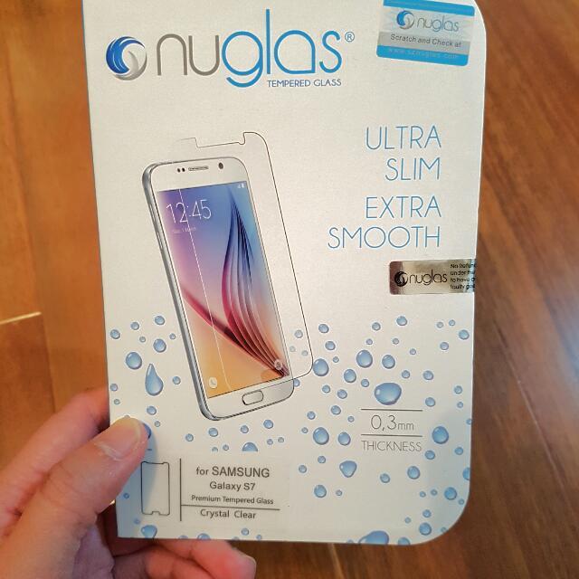 Genuine Nuglas For S7, Sealed In Package