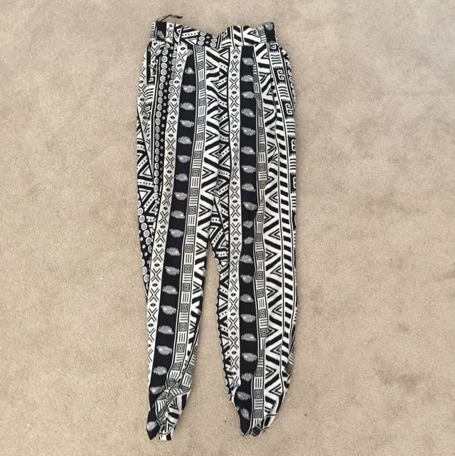 GOLDIE tribal Print Trouser