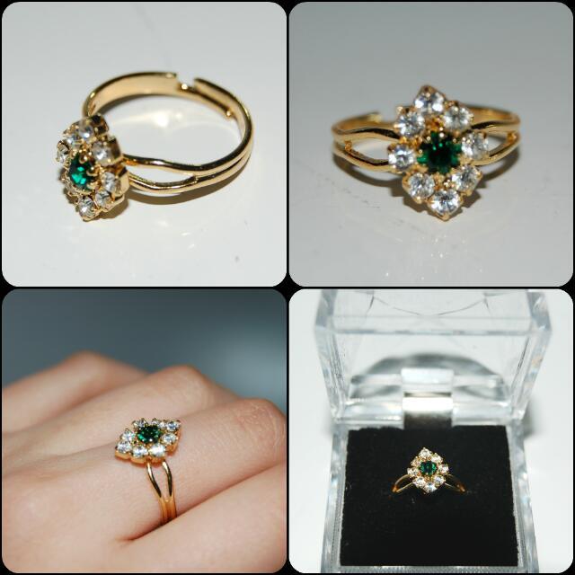 Green Eyed Ring