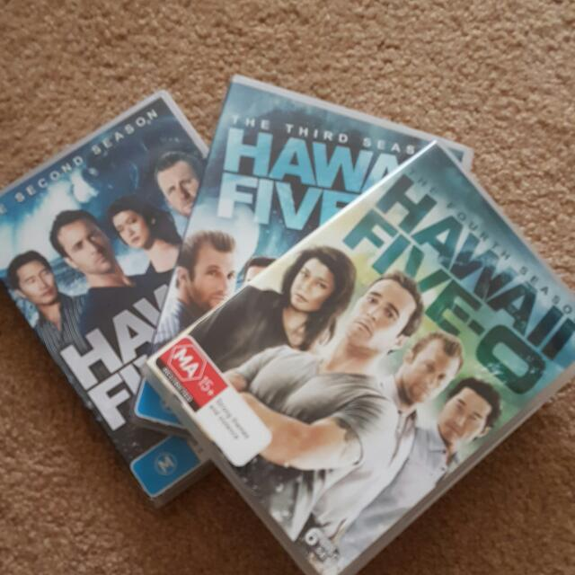 Hawaii 5.0 Season 2-4 Set