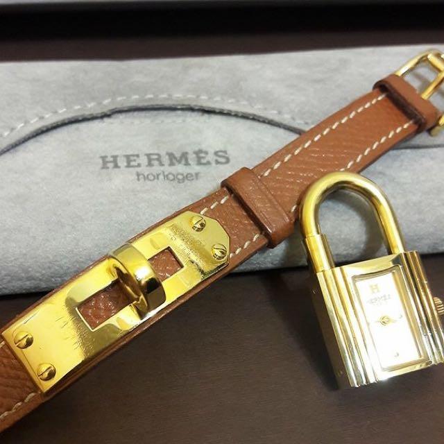 HERMES Kelly 鎖頭腕錶