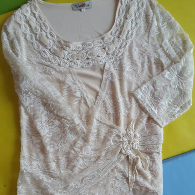 HK Lace Blouse