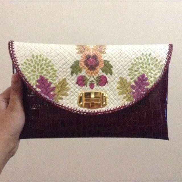 Homemade Anyaman Handbag Tas Bag