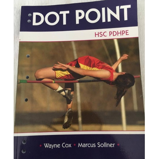 HSC PDHPE Dot Point Book and more!!!