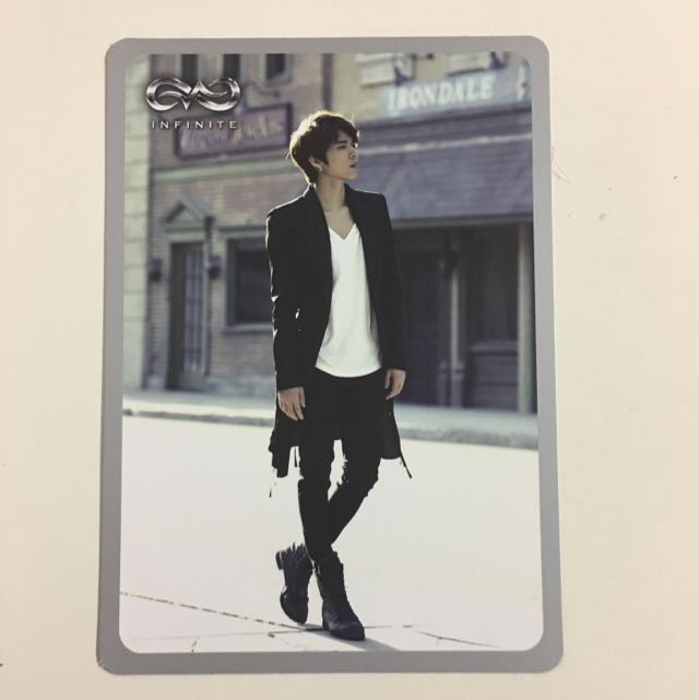 Infinite Destiny Woohyun Photocard ver.