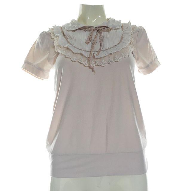 Ivory Ruffle Shirt Size 6/8