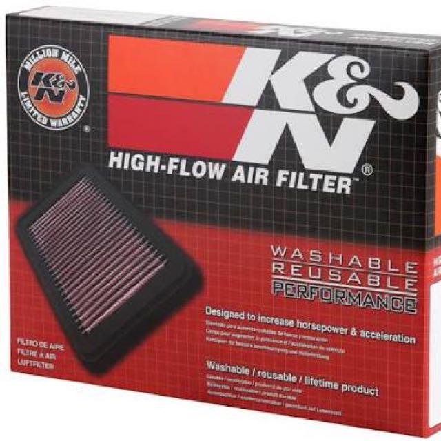 K&N Filter udara mobil (car Air Filter)