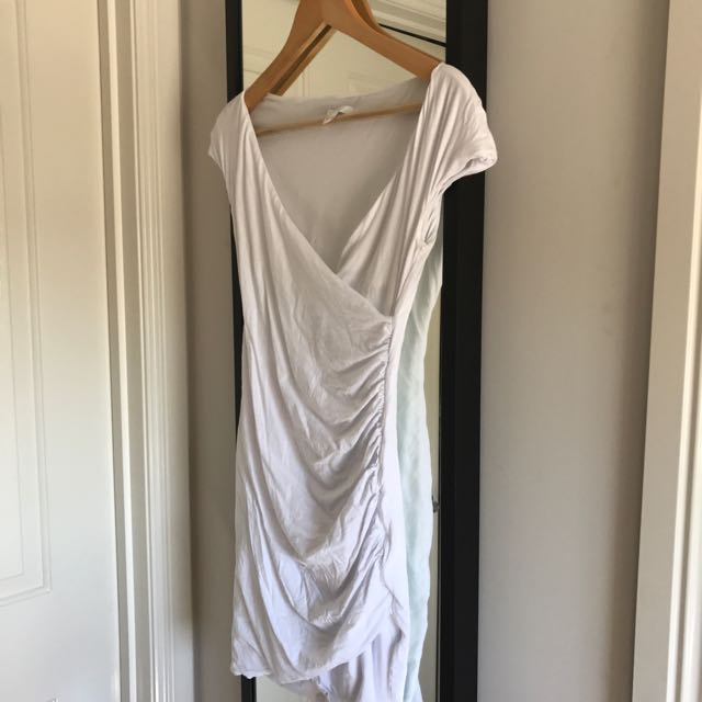 KOOKAI WHITE BABAIDOS DRESS