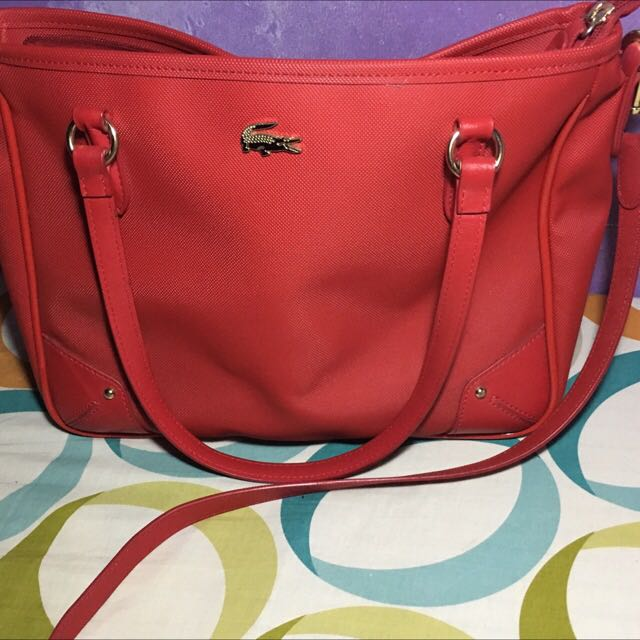 Lacoste Convertible Two way Bag