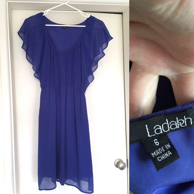 Ladakh Blue Dress Size 6