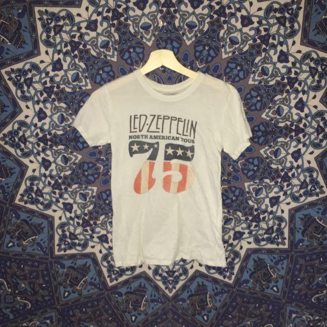LED ZEPPLIN vintage women's tshirt