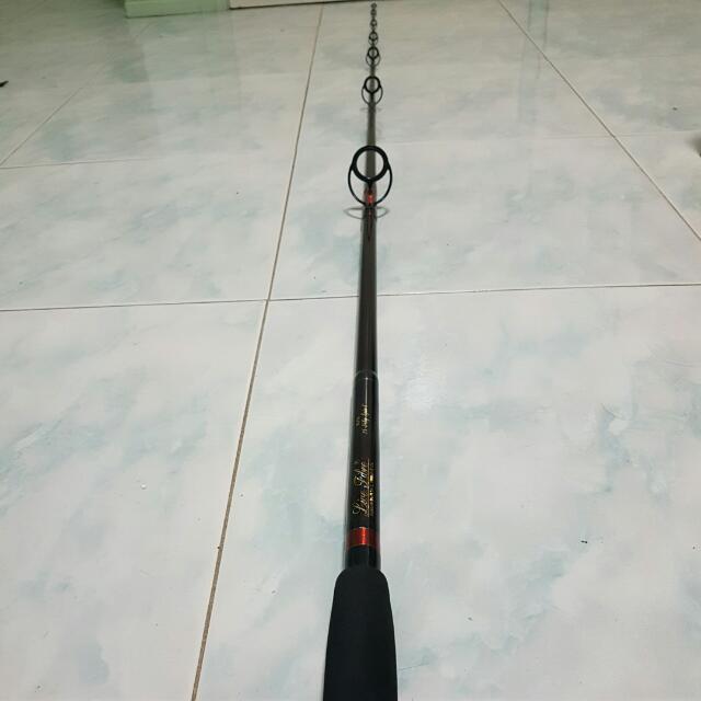 Live Fibre RLF 13 Fishing Rod 8ft 1pc 15-24kg