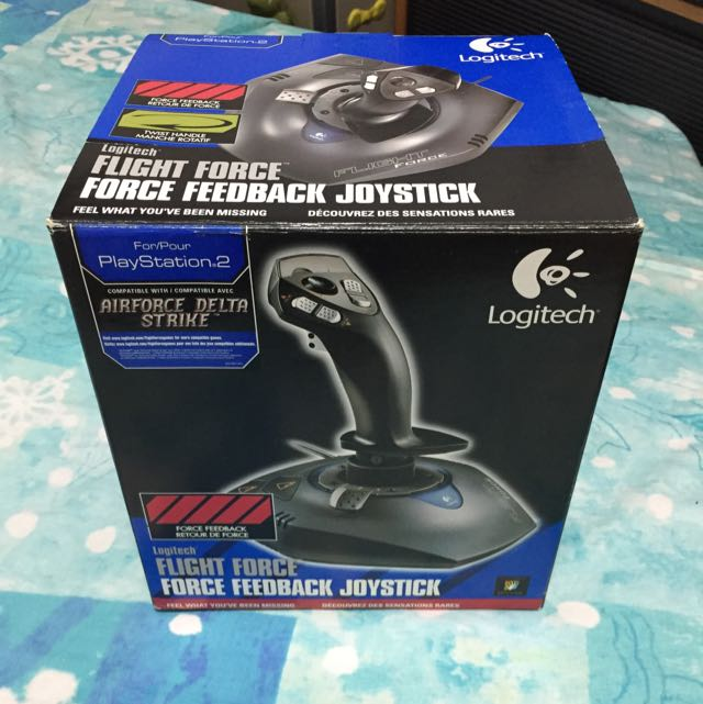 d7703d9b727 Logitech Flight Force Joystick, Video Gaming, Gaming Accessories on ...