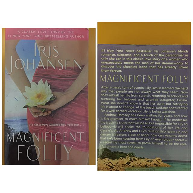 Magnificent Folly by Iris Johansen