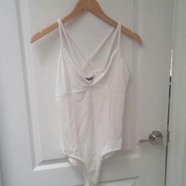 Mendocino White Bodysuit