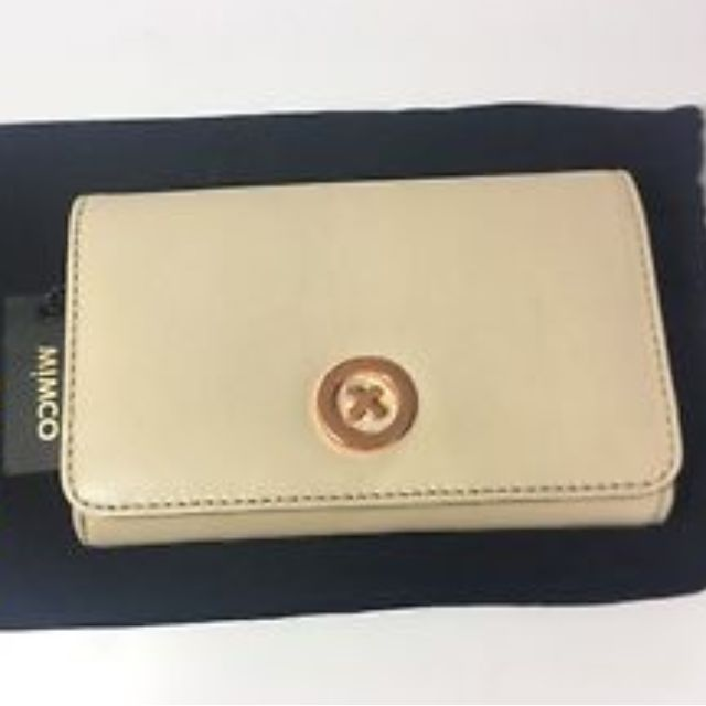 PRICEDROP - Mimco Supersonica Wallet in Nude