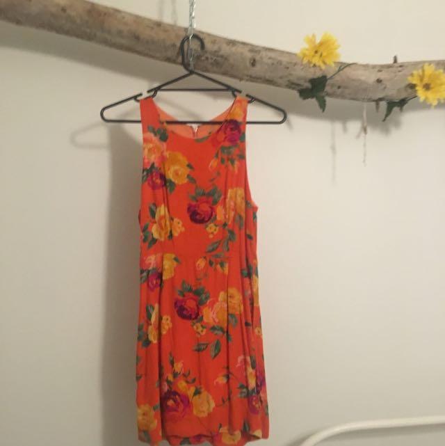 Minkpink Vintage Hawaiian Style Dress XS