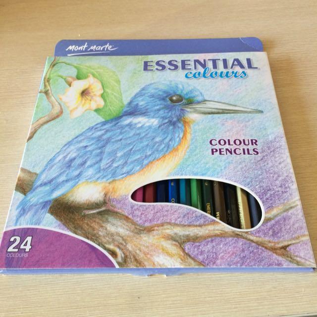 Mont Marte 24 Colours Pencils