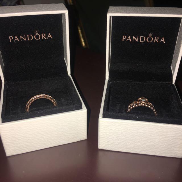 My Princess ring set (Pandora)