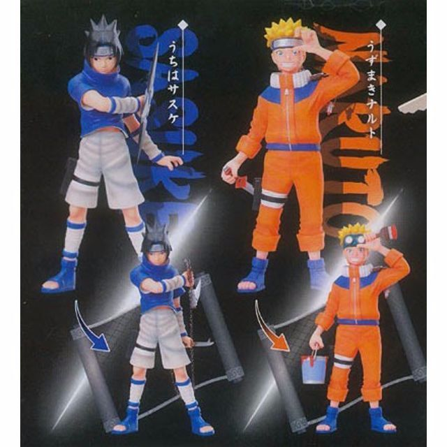 Naruto Shippuden Collective File DX Uzumaki Naruto & Uchiha Sasuke (Set of 2)