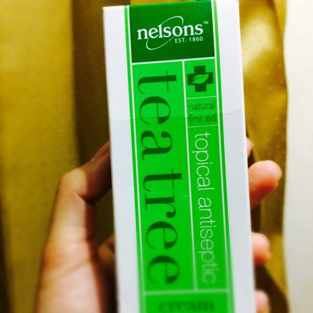 nelson tree tea cream