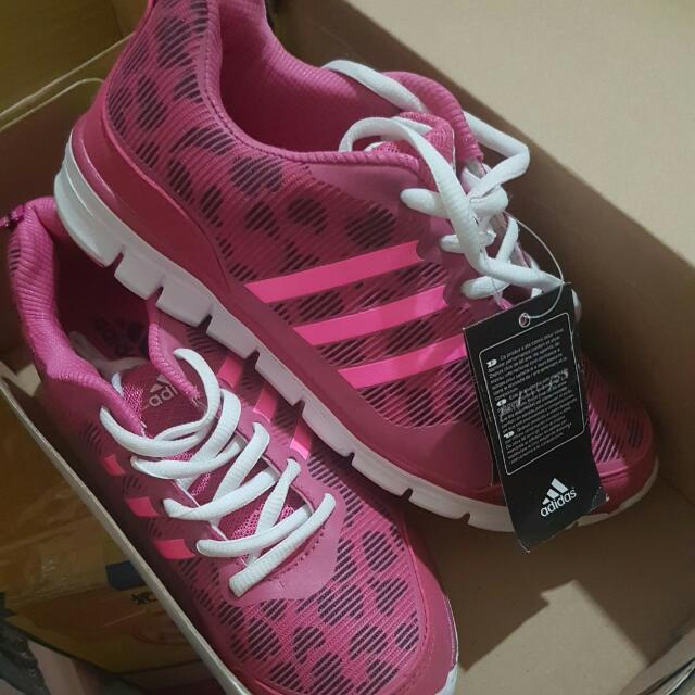 New Adidas KW (non ori) pink running shoes size 38