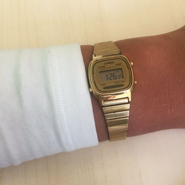 New Casio Water Resistant Watch