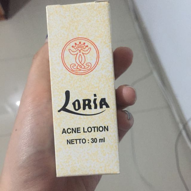 NEW LORIA ACNE LOTION