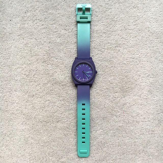 Nixon Time Teller Purple/Teal