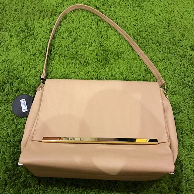 Nude Side Bag