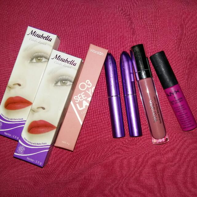 Nyx Wardah Mirabella Lip Cream