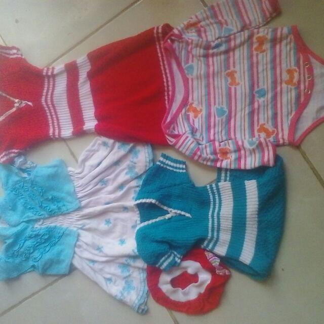 Pakaian Anak 1-2 Tahun Take All