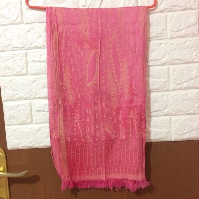 Pashmina Pink-yellow