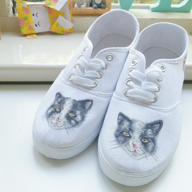 Pet Hand-painted Shoes