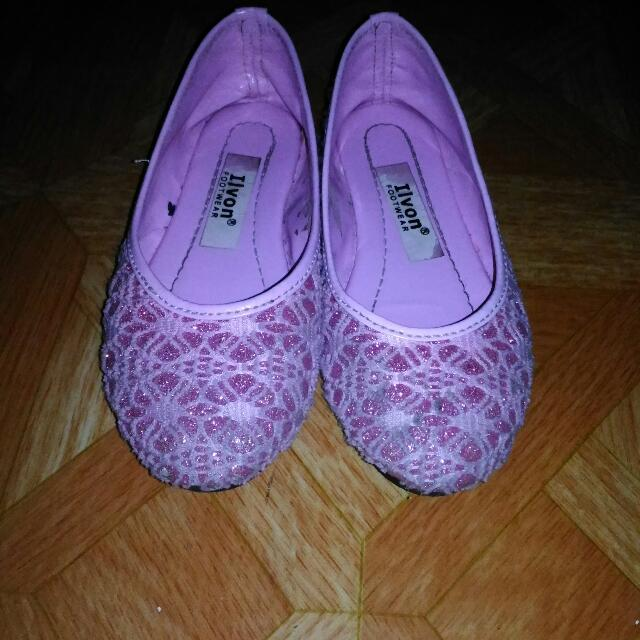 Pink Dolls Shoes