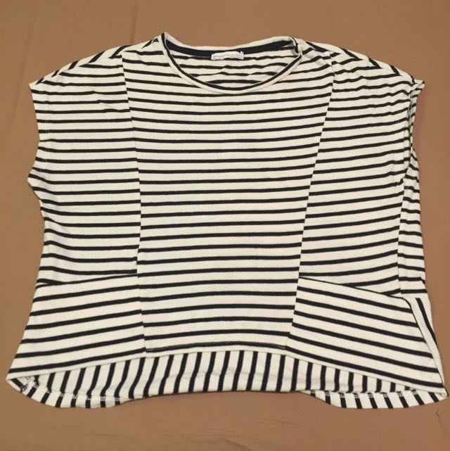 Preloved Zara Stripes T Shirt