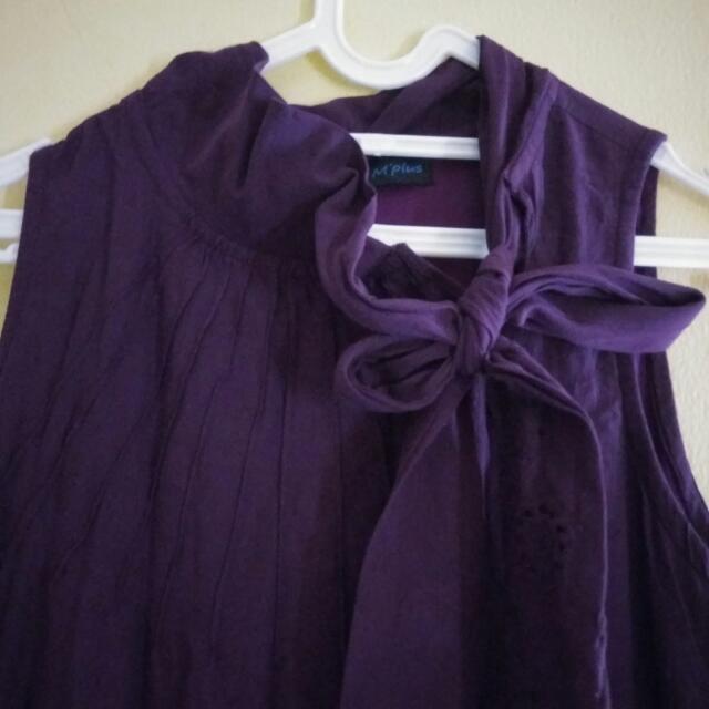 Purple Maxi Long Dress