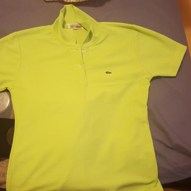 Ralph Lauren Polo And Lacoste Polo Shirt